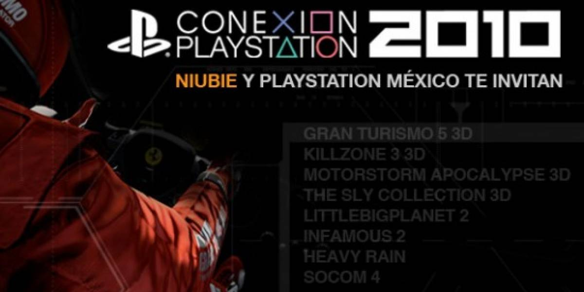 Niubie y PlayStation México te invitan a Conexión PlayStation 2010