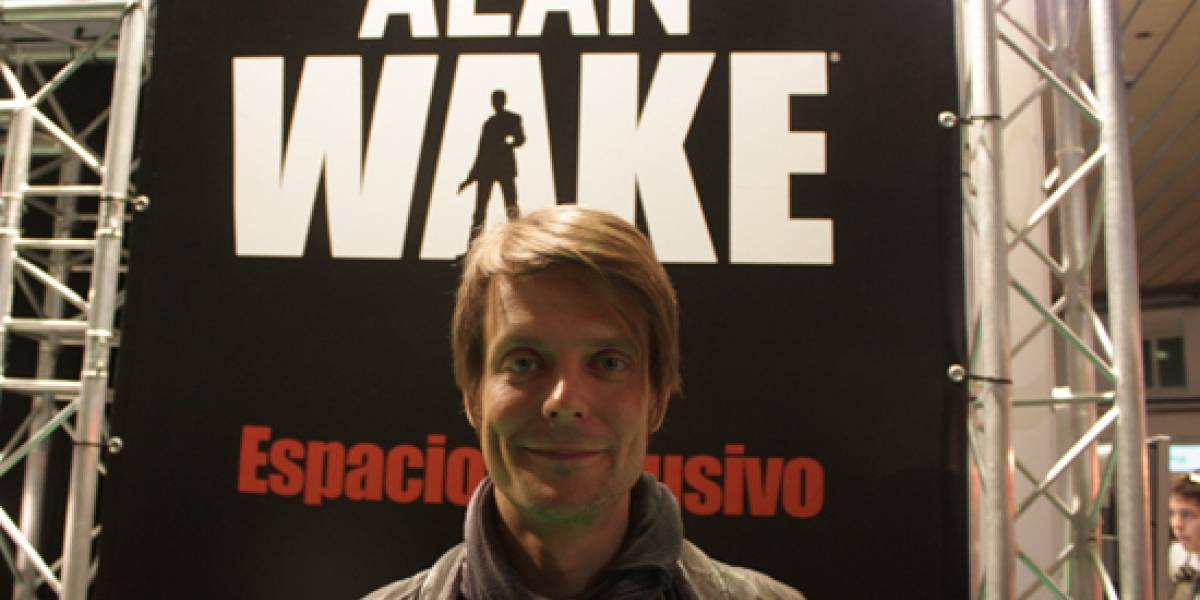 Sam Lake, guionista de Alan Wake, en el Salón del Cómic en Barcelona [NB Interviú]