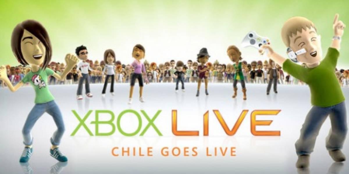 Xbox Live llega a Chile y Colombia a partir de hoy