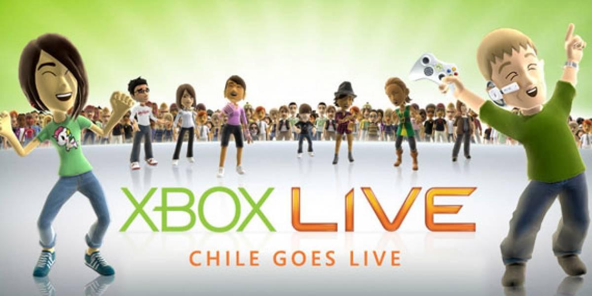 En Noviembre XBOX LIVE llegará a Chile