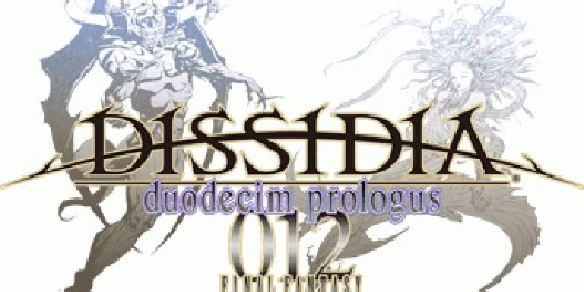 Se anuncia DISSIDIA duodecim prologus 012 Final Fantasy