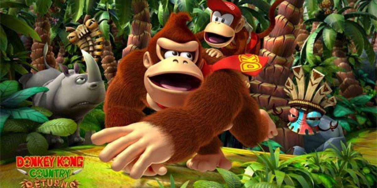 Donkey Kong Country Returns ya rebasó las 4 millones de unidades vendidas