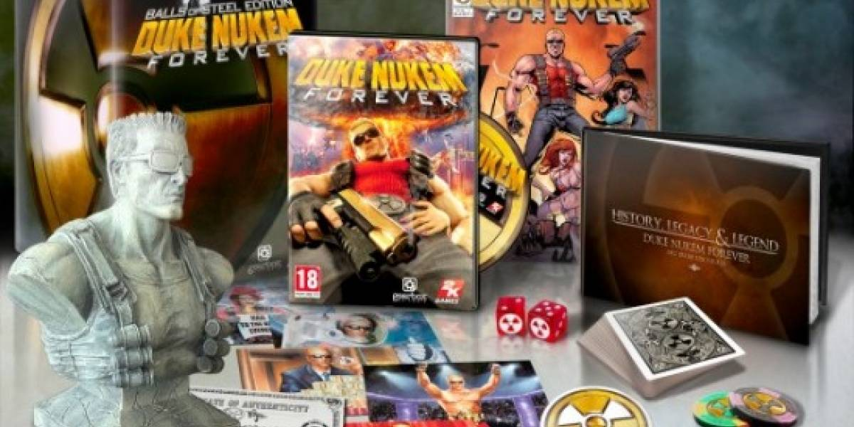 2K Games anuncia la edición especial de Duke Nukem Forever