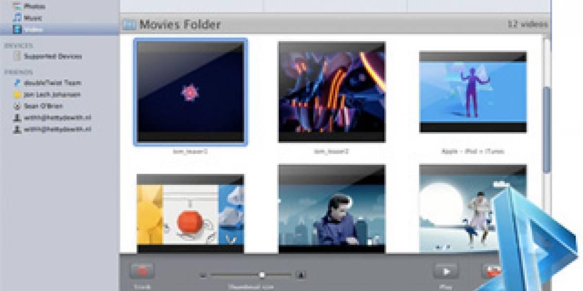 DoubleTwist: Administrador de dispositivos de DVD Jon