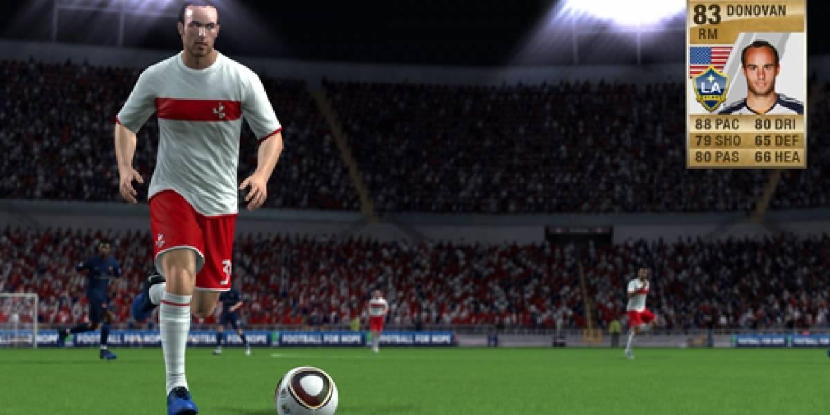 Fecha y detalles para el Ultimate Team de FIFA 11