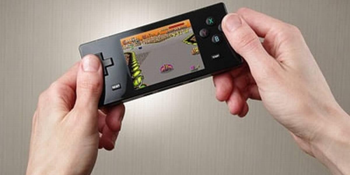 Juegos de Nintendo, Sega y Neo Geo en una misma portátil