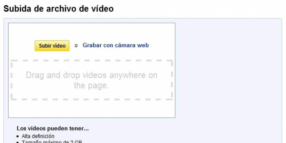 YouTube ahora permite arrastrar y copiar videos