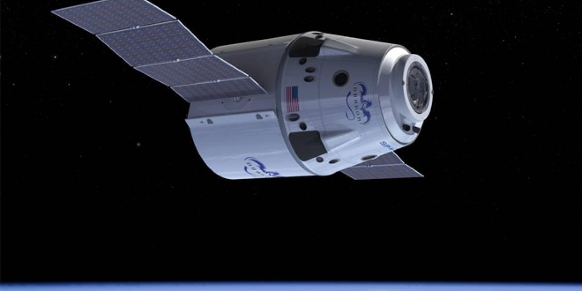 SpaceX lleva su primer cargamento a la Estación Espacial Internacional