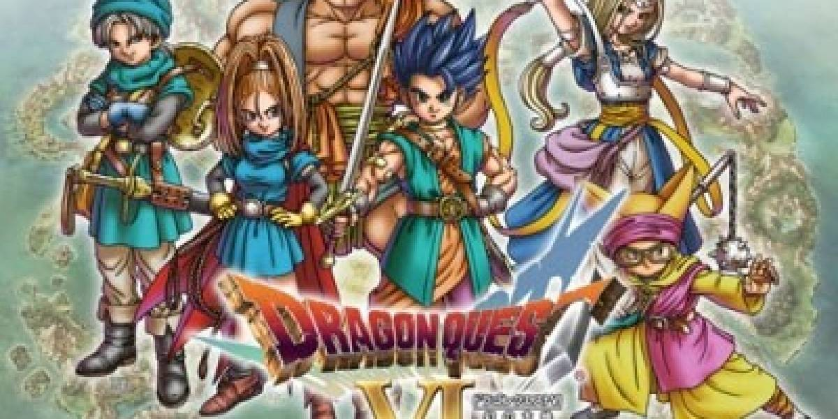 Remake de Dragon Quest VI llegará a América muy pronto