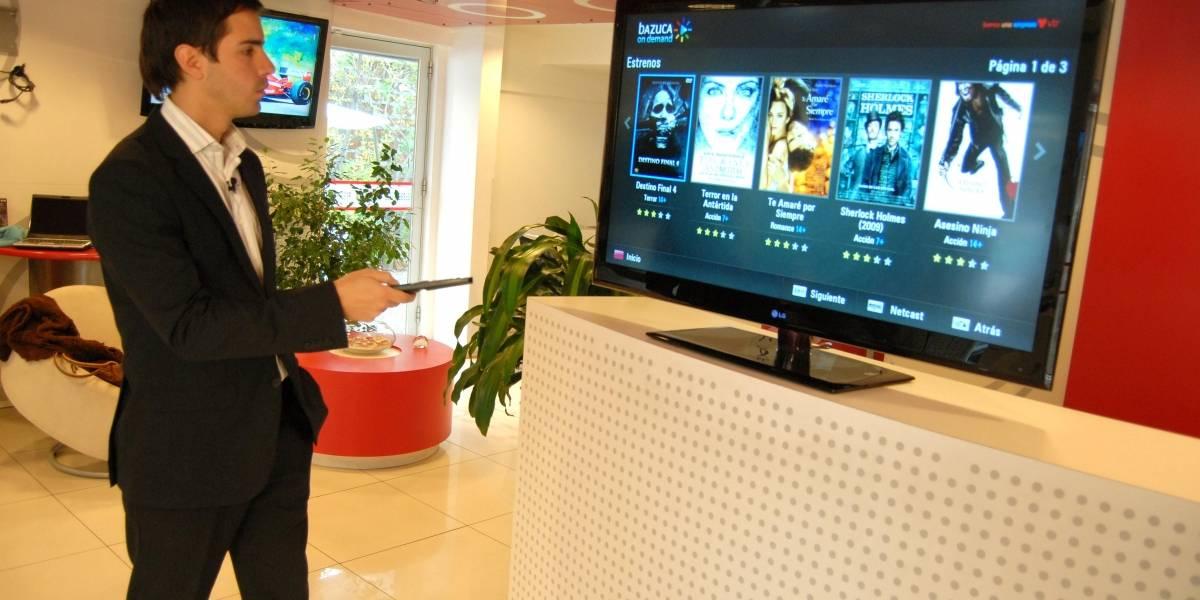 Chile: LG lanza televisor con contenido online local