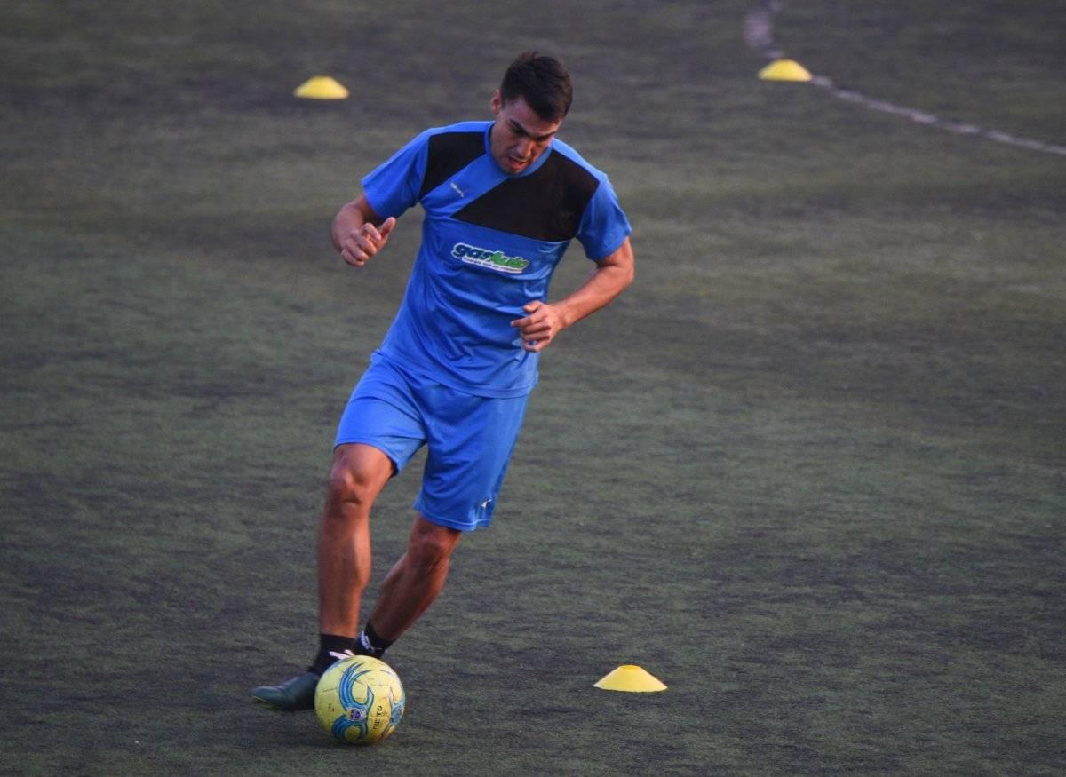 El delantero mexicano podría debutar ante Suchitepéquez