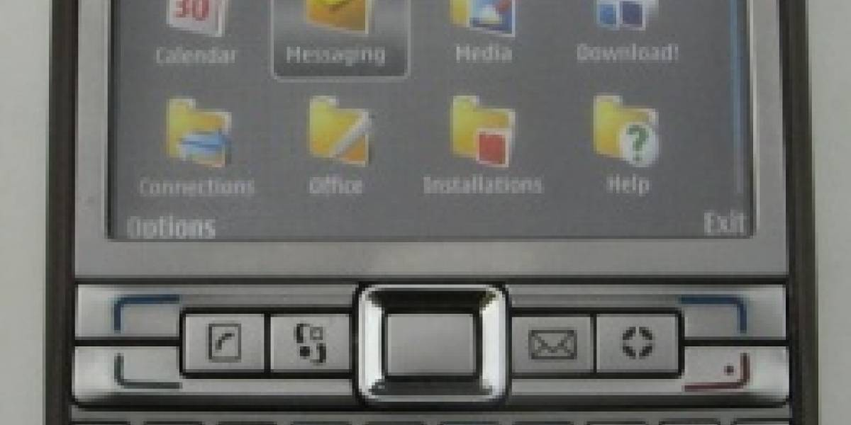 Fotos del Nokia E61i