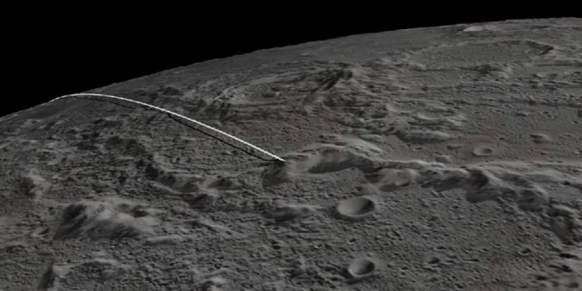 Sondas Grail se estrellan exitosamente en la Luna