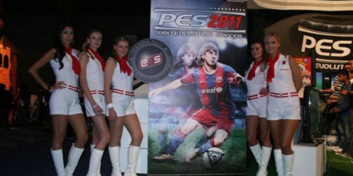 PES 2011 se lleva el premio al mejor juego de deportes del EGS 2010