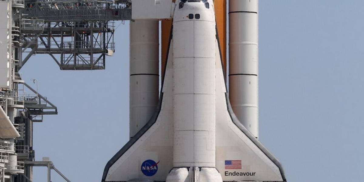 Time-lapse del Transbordador Endeavour