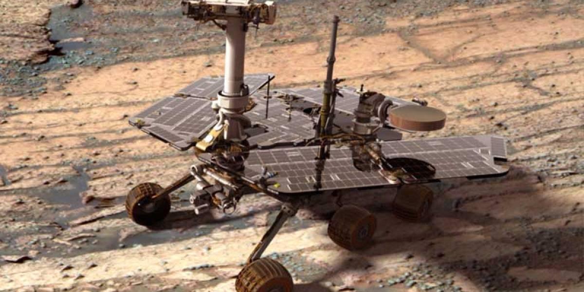 Opportunity inicia su décimo año en Marte