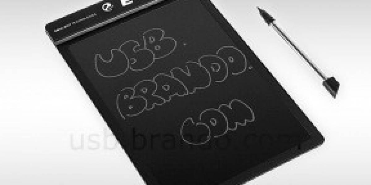 E-Note, una tableta para anotar o dibujar y nada más