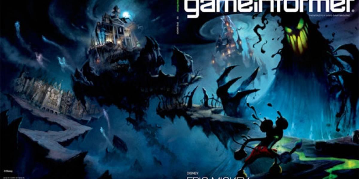Epic Mickey confirmado en la portada de Game Informer