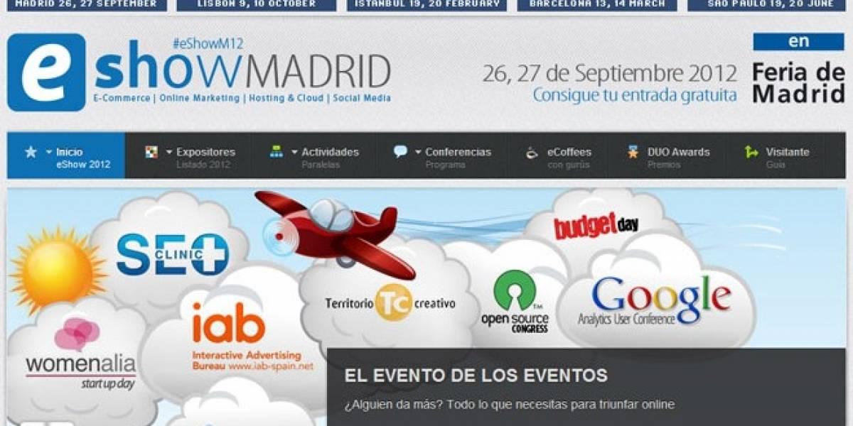eShow llega a Madrid: El 26 y 27 de septiembre es la cita clave de los negocios en Internet