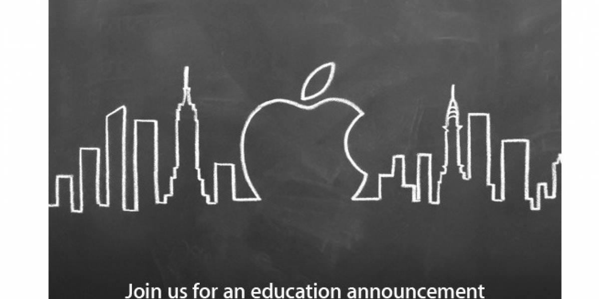 Apple organiza un evento relacionado con la educación para la próxima semana