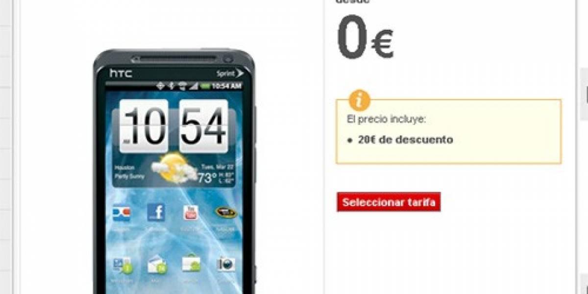 El HTC EVO 3D llega a España con Vodafone