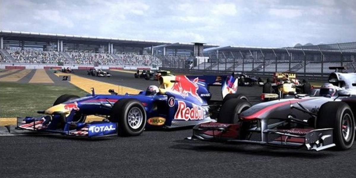 F1 2010 rebajado a mitad de precio en Steam