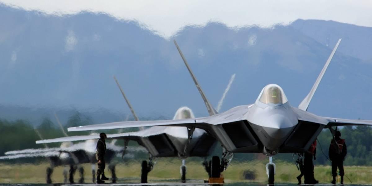 FIDAE 2010: F-22 Raptor, el avión de combate más avanzado del mundo
