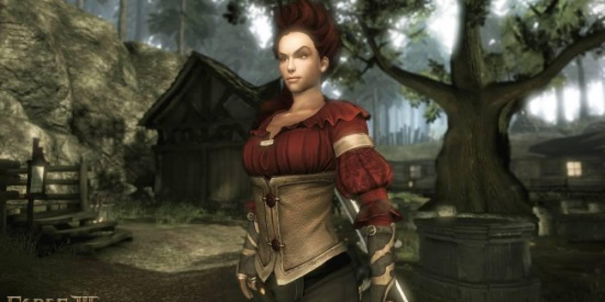 Las copias nuevas de Fable III incluirán DLC gratuito