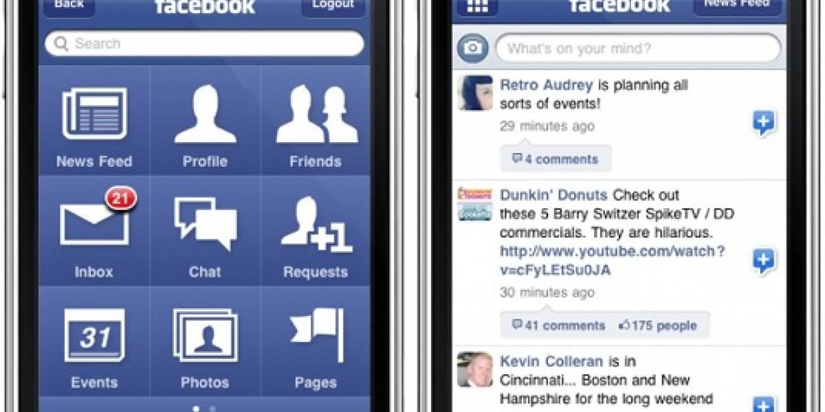 La app de Facebook para iPhone no le gusta a los usuarios