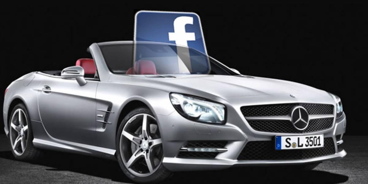 CES 2012: Mercedes Benz integrará Facebook dentro de sus vehículos