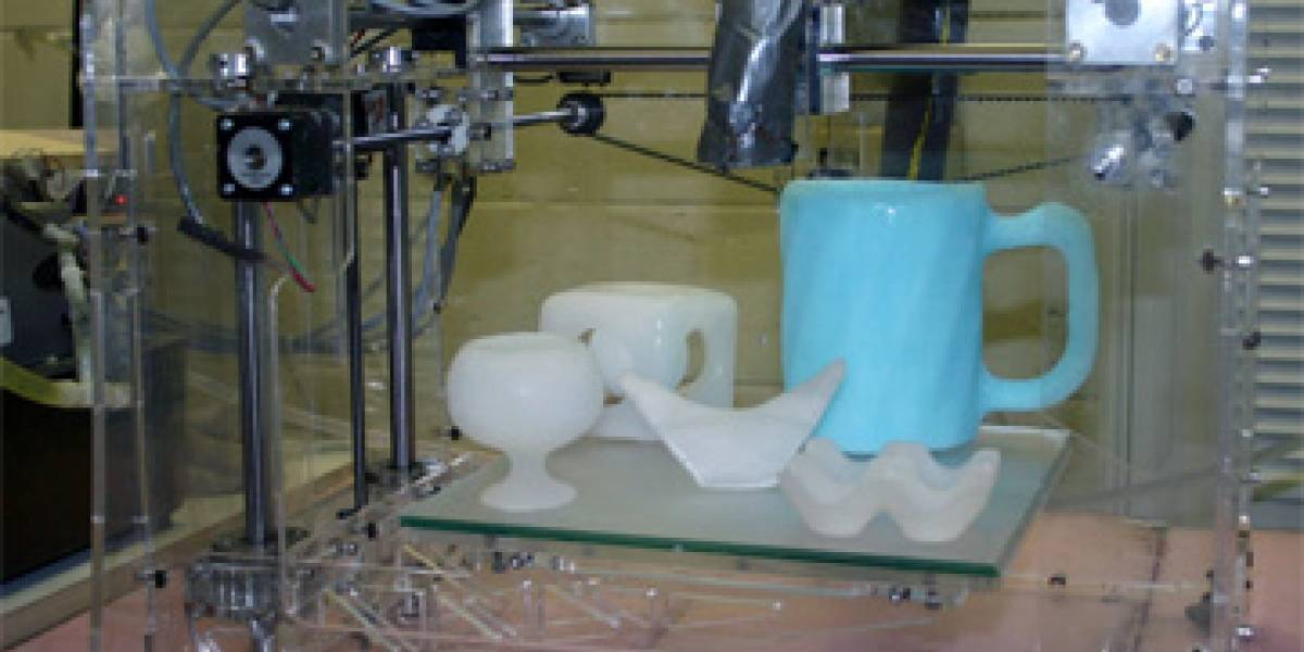 Impresora que modela estructuras de hielo en 3D