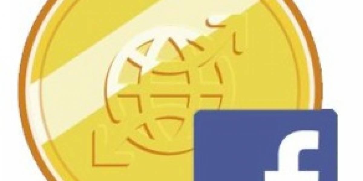 Facebook usará sus créditos en los juegos dentro de la red social