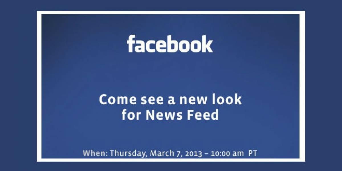 Facebook renovará el feed de noticias