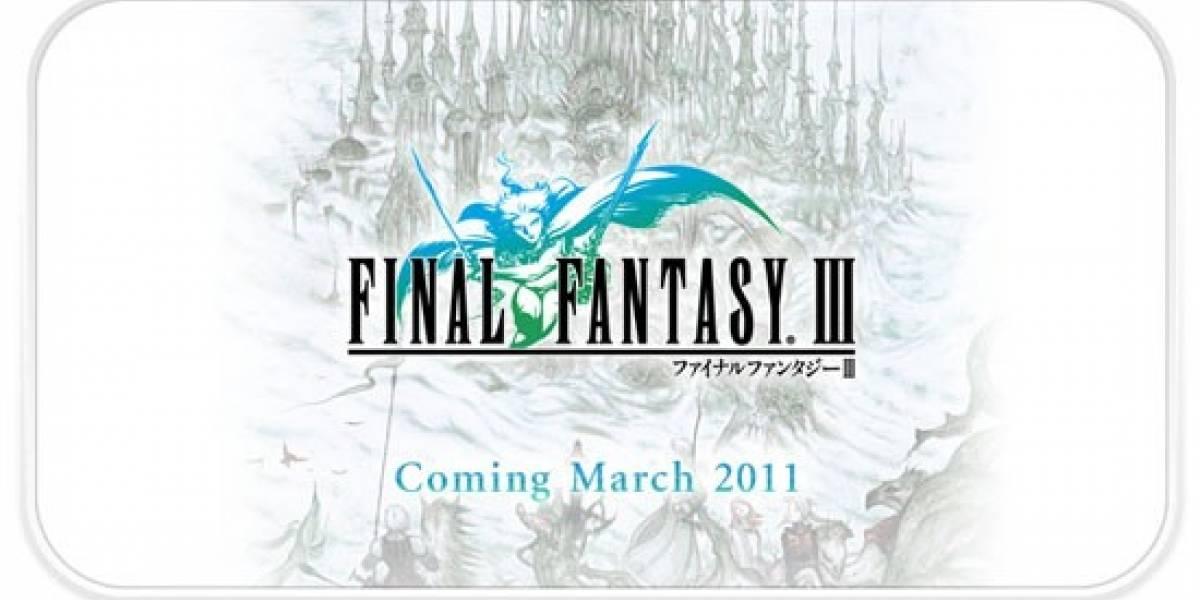 Final Fantasy III llegará a la App Store el siguiente mes