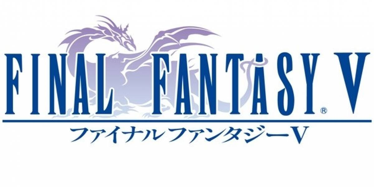Square Enix anuncia Final Fantasy V para PSN