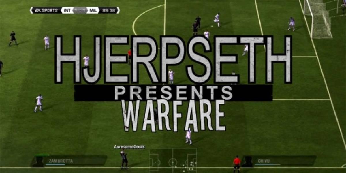 ¿Qué pasa cuando mezclas FIFA 11 con Modern Warfare?