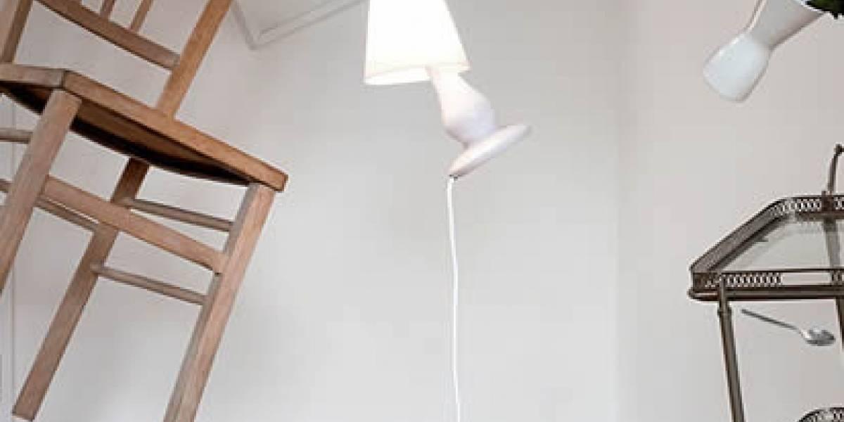 Una lámpara que trae la Estación Espacial a tu casa