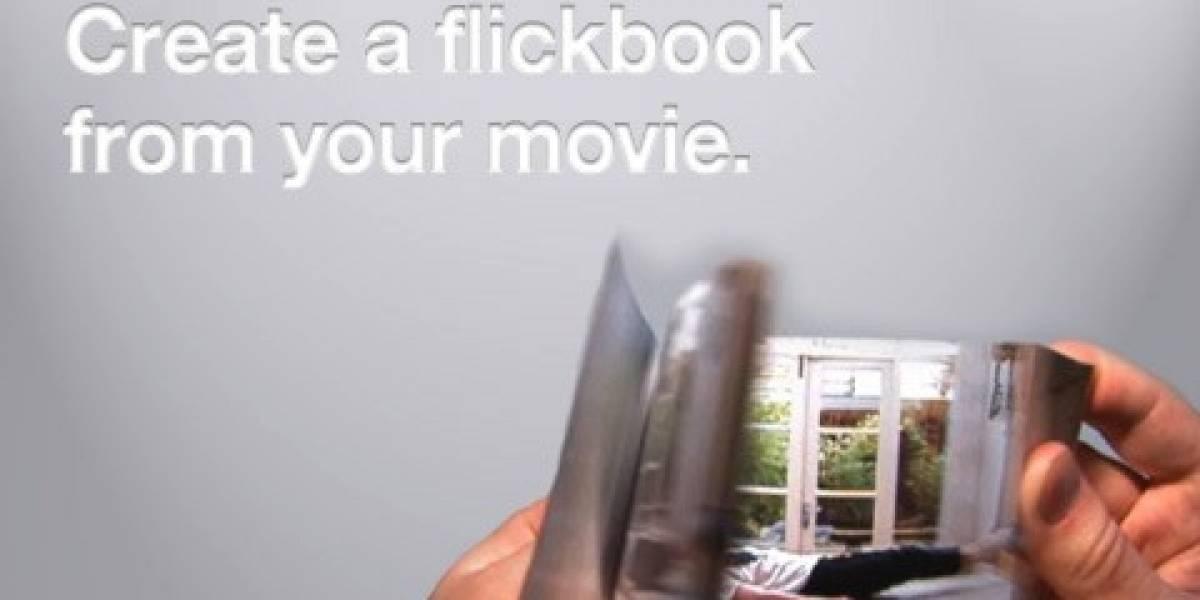 Convierte los videos de móviles en folioscopios