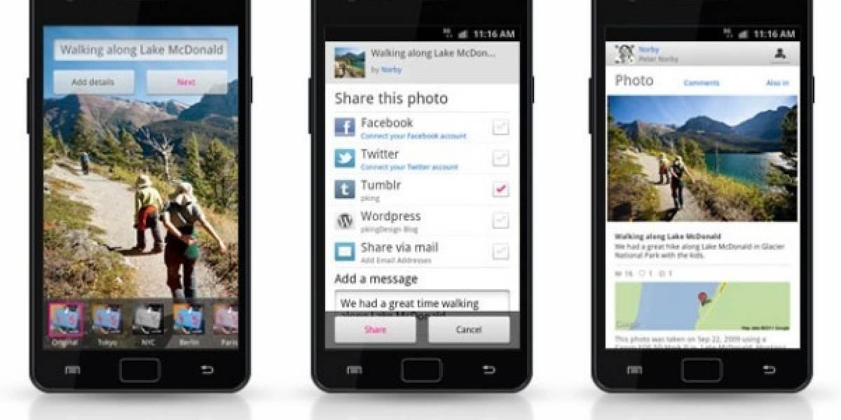 Flickr ya tiene una app para Android con filtros de fotos al estilo de Instagram