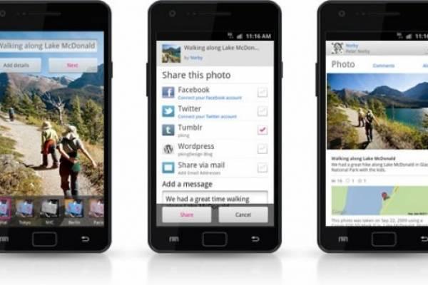 Flickr ya tiene una app para Android con filtros de fotos al