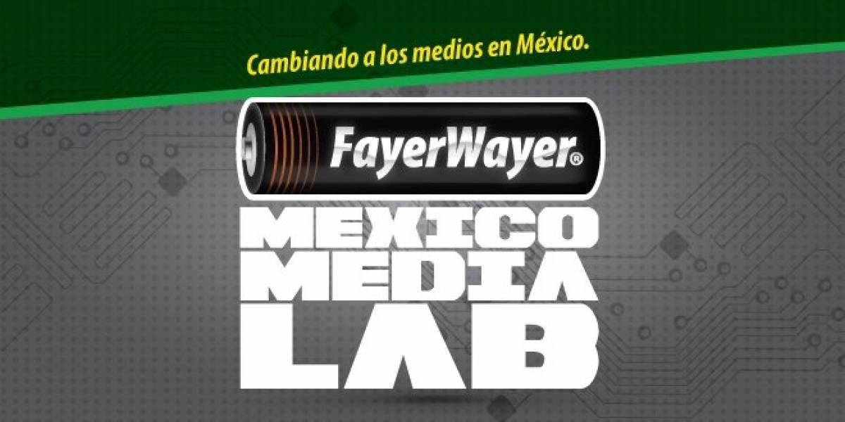 Aún estás a tiempo de participar en el Mexico Media Lab de FayerWayer