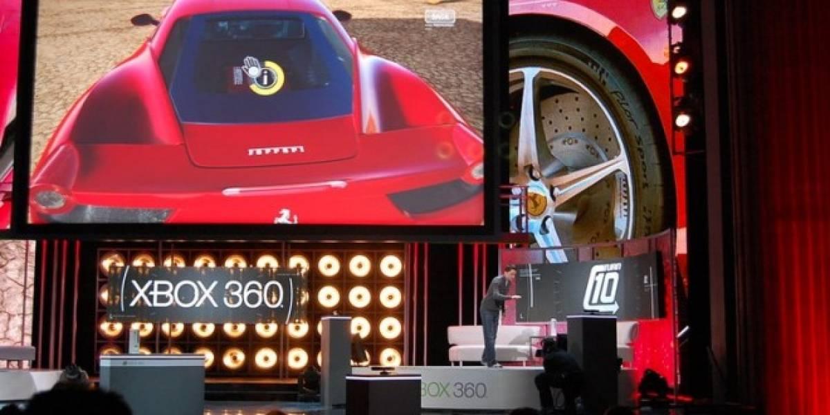 Futurología: Forza 4 con 500 autos, Jeremy Clarkson, y mucho soporte para Kinect