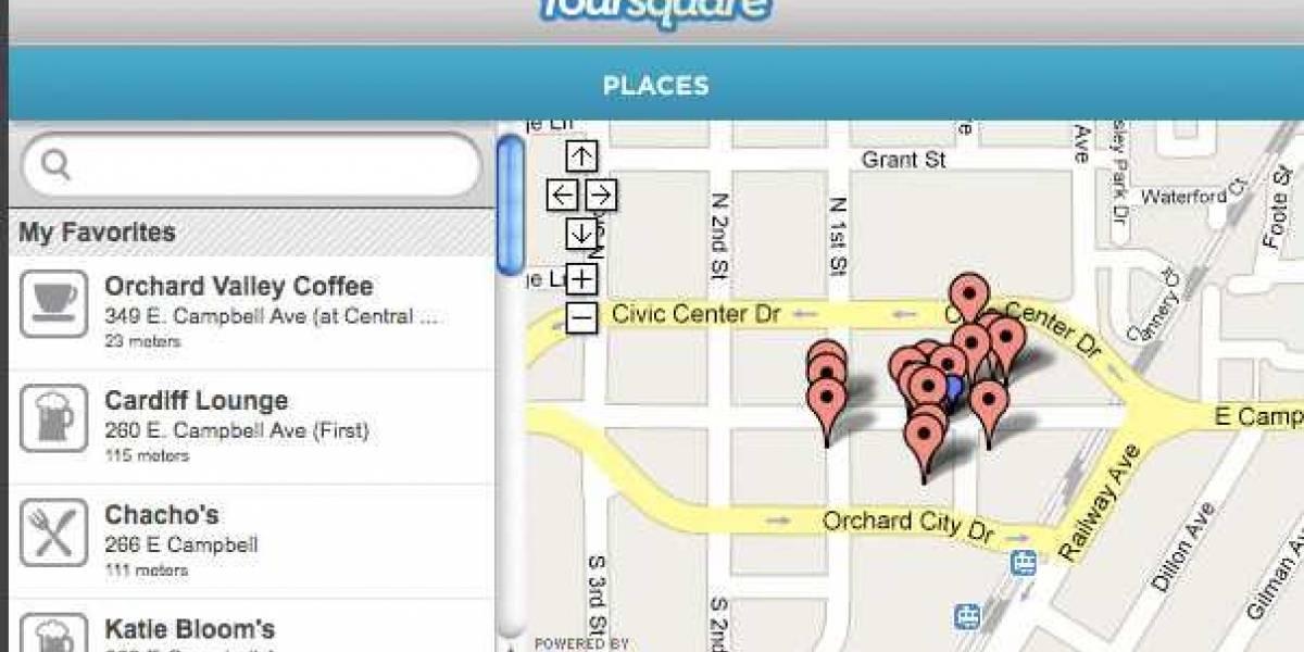 Plugin para Firefox permite hacer check-in en Foursquare