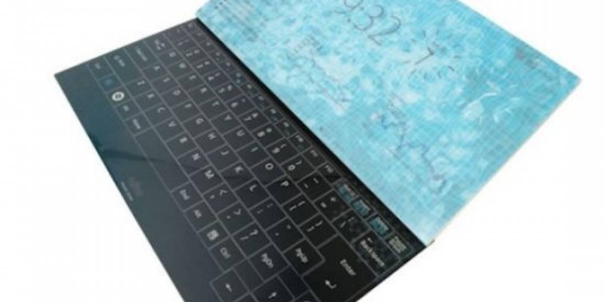 Futurología: Acer planea lanzar una laptop con teclado táctil y sin marco de pantalla