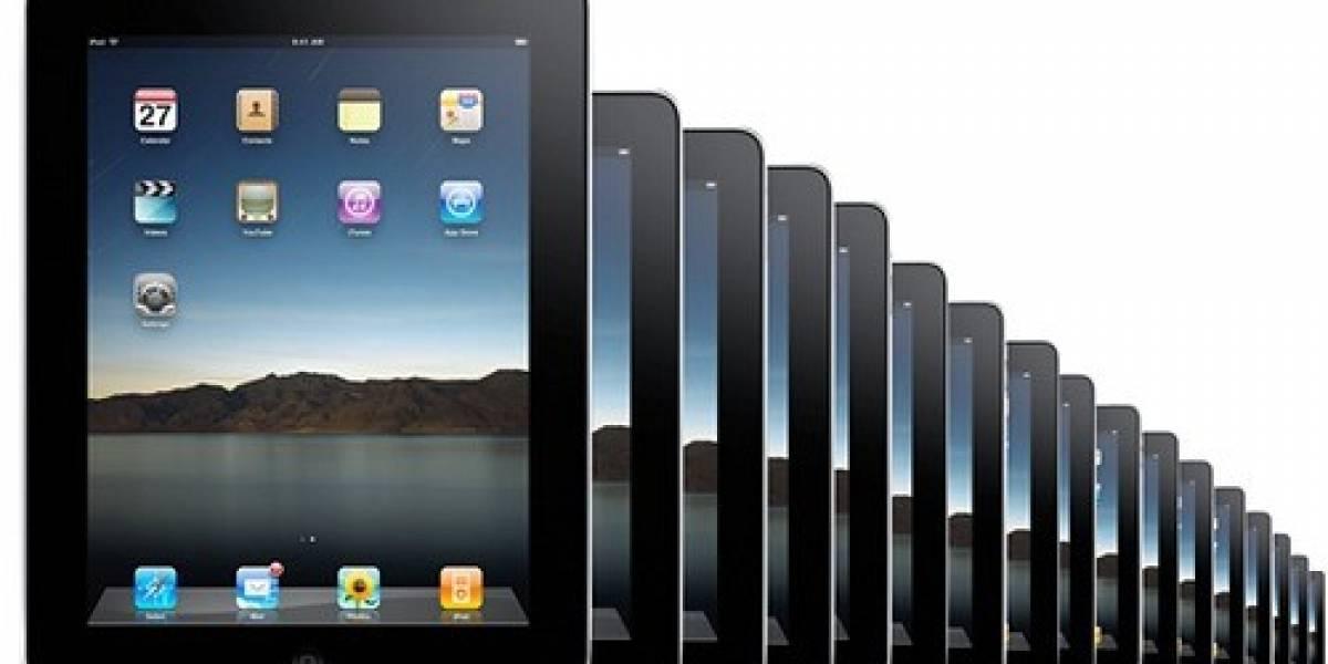 Estudio: Baja penetración en el mercado de la iPad