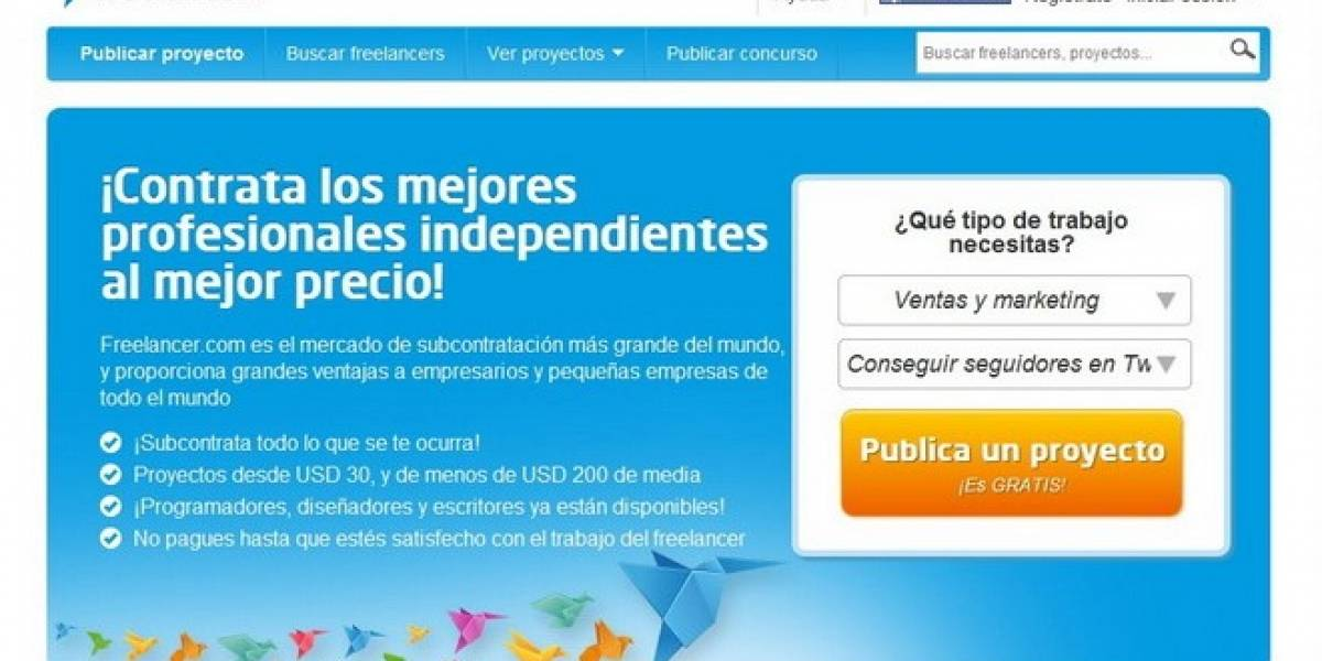 México: Freelancer comenzará a ofrecer sus servicios de outsourcing