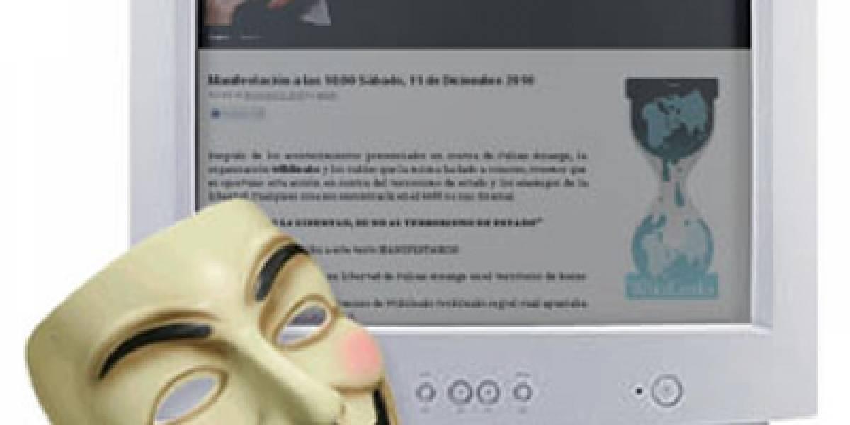 España: FreeWikileaks responde a Anonymous e invita a compartir objetivos