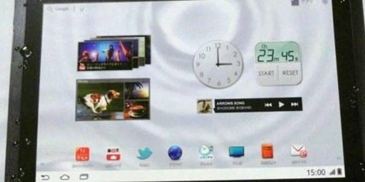 Fujitsu Arrows Tab, un tablet todoterreno