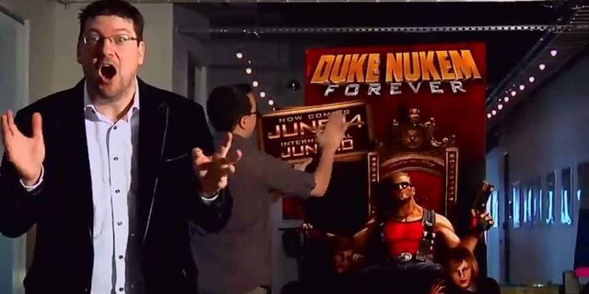 Duke Nukem Forever RETRASADO. No es chiste.