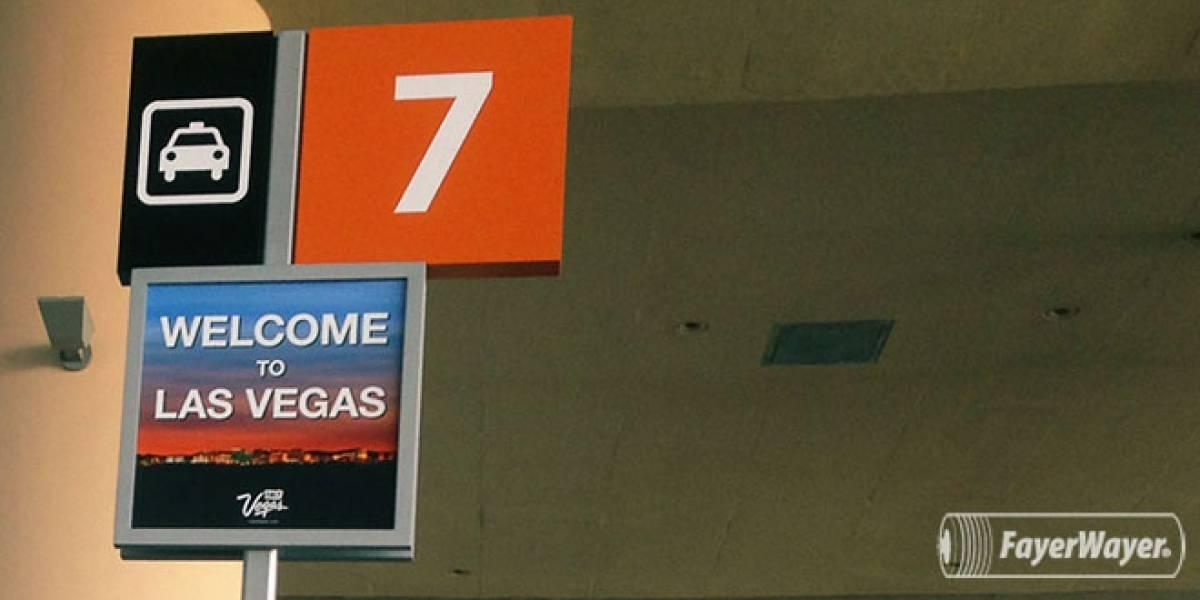 Ya estamos en Las Vegas, listos para el CES 2013